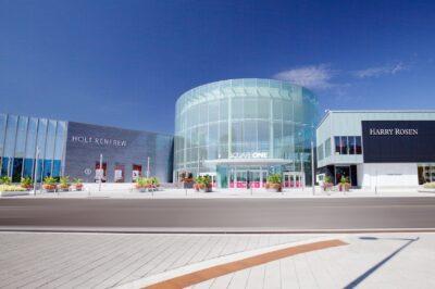 Square One, South Expansion. Holt Renfrew •Grand Rotunda (Entrance 3) • Harry Rosen